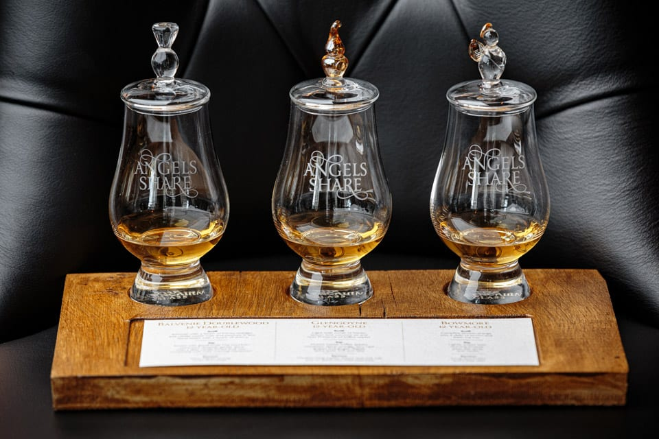 Angels Share – Whisky Flights